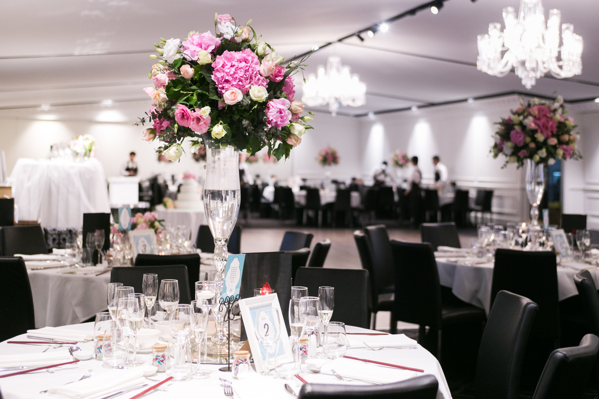 White Night Wedding Package - White Night Receptions